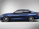Фото авто Alpina B4 F32/F33, ракурс: 90 цвет: синий