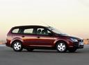 Фото авто Ford Focus 2 поколение, ракурс: 315 цвет: бордовый