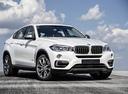 Фото авто BMW X6 F16, ракурс: 315 цвет: белый