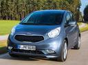 Фото авто Kia Venga 1 поколение [рестайлинг], ракурс: 45 цвет: синий