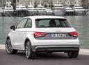 Фото авто Audi A1 8X [рестайлинг], ракурс: 135 цвет: белый