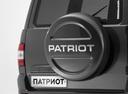 Фото авто УАЗ Patriot 2 поколение [рестайлинг], ракурс: задняя часть цвет: серый