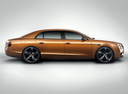 Фото авто Bentley Flying Spur 1 поколение, ракурс: 270 - рендер цвет: коричневый