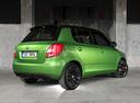 Фото авто Skoda Fabia 5J [рестайлинг], ракурс: 225 цвет: зеленый