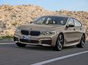 Фото авто BMW 6 серия G32, ракурс: 45 цвет: бежевый