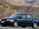 Фото авто Audi A6 4B/C5, ракурс: 45 цвет: черный