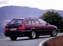 Фото авто BMW 5 серия E39, ракурс: 225 цвет: бордовый