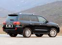 Фото авто Lexus LX 3 поколение, ракурс: 270 цвет: черный
