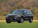 Фото авто BMW X1 F48, ракурс: 45 цвет: серый