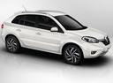Фото авто Renault Koleos 1 поколение [2-й рестайлинг], ракурс: 315 цвет: белый