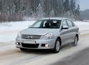 Фото авто Nissan Almera G11, ракурс: 45 цвет: серебряный