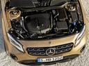 Фото авто Mercedes-Benz GLA-Класс X156 [рестайлинг], ракурс: двигатель цвет: золотой
