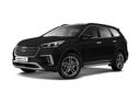 Новый Hyundai Santa Fe, черный металлик, 2016 года выпуска, цена 2 819 000 руб. в автосалоне МОДУС Hyundai Пятигорск