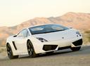 Фото авто Lamborghini Gallardo 1 поколение, ракурс: 315 цвет: белый
