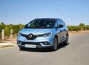 Фото авто Renault Scenic 4 поколение, ракурс: 45 цвет: голубой