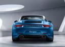 Фото авто Porsche 911 991, ракурс: 180 цвет: синий