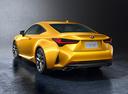 Фото авто Lexus RC 1 поколение [рестайлинг], ракурс: 135 цвет: желтый