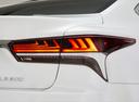 Фото авто Lexus LS 5 поколение, ракурс: задние фонари цвет: белый