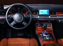 Фото авто Audi A8 D3/4E, ракурс: рулевое колесо