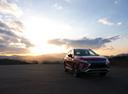 Фото авто Mitsubishi Eclipse Cross 1 поколение, ракурс: 315 цвет: бордовый
