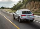 Фото авто Audi Q5 2 поколение, ракурс: 135 цвет: серебряный