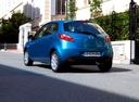 Фото авто Mazda 2 DE [рестайлинг], ракурс: 135 цвет: голубой