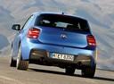 Фото авто BMW 1 серия F20/F21, ракурс: 180 цвет: синий