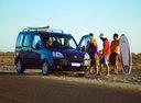 Фото авто Fiat Doblo 1 поколение [рестайлинг], ракурс: 315 цвет: синий