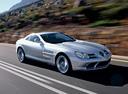Фото авто Mercedes-Benz SLR-Класс C199, ракурс: 315 цвет: серебряный
