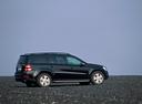 Фото авто Mercedes-Benz GL-Класс X164, ракурс: 270 цвет: черный
