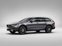 Фото авто Volvo V90 2 поколение, ракурс: 45 цвет: серый
