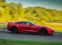Фото авто Chevrolet Corvette C7, ракурс: 270 цвет: красный