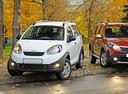 Фото авто Chery IndiS 1 поколение, ракурс: 45 цвет: белый