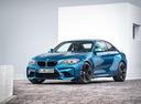 Фото авто BMW M2 F87, ракурс: 45 цвет: голубой