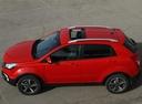 Фото авто SsangYong Korando 3 поколение [2-й рестайлинг], ракурс: сверху цвет: красный