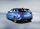 Фото авто Kia Cee'd 3 поколение, ракурс: 135 - рендер цвет: синий