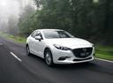 Фото авто Mazda 3 BM [рестайлинг], ракурс: 315 цвет: белый