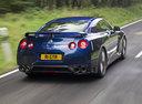 Фото авто Nissan GT-R R35 [2-й рестайлинг], ракурс: 225 цвет: синий