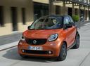 Фото авто Smart Fortwo 3 поколение, ракурс: 45 цвет: оранжевый
