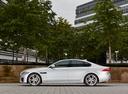 Фото авто Jaguar XF X260, ракурс: 90 цвет: белый