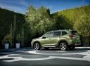 Фото авто Subaru Forester 5 поколение, ракурс: 90 цвет: зеленый