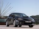 Фото авто Subaru Impreza 3 поколение [рестайлинг], ракурс: 315 цвет: серый