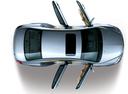 Фото авто Geely Emgrand EC7 1 поколение, ракурс: сверху цвет: серебряный