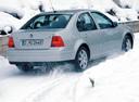 Фото авто Volkswagen Bora 1 поколение, ракурс: 225 цвет: белый