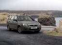 Фото авто ВАЗ (Lada) Priora 1 поколение [рестайлинг], ракурс: 315 цвет: серебряный