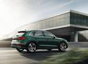Фото авто Audi SQ5 2 поколение, ракурс: 225 цвет: зеленый