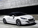 Фото авто Peugeot RCZ 1 поколение [рестайлинг], ракурс: 315 цвет: белый
