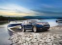 Фото авто Ford Explorer 5 поколение, ракурс: 315 цвет: синий