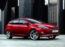 Фото авто Ford Focus 3 поколение, ракурс: 315 цвет: бордовый