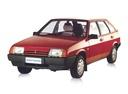 Фото авто ВАЗ (Lada) 2109 1 поколение [рестайлинг], ракурс: 45 цвет: красный